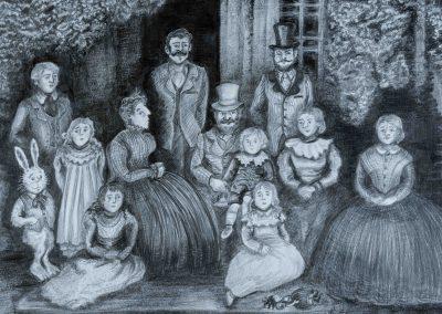 Victorian Family Portrait