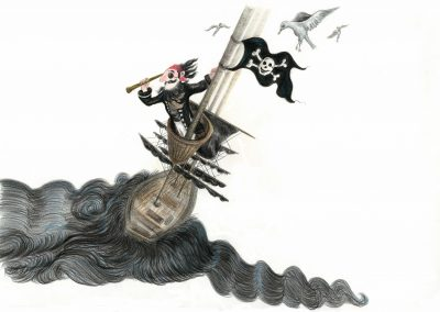 Captain In The Crows Nest